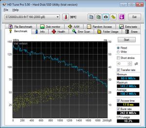 Seagate 2TB HD Tune Pro
